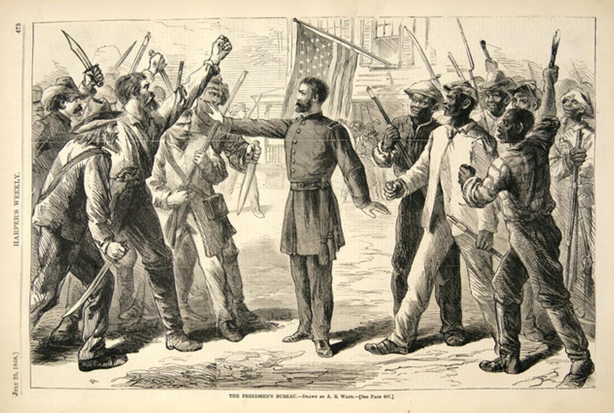Ilustración publicada por 'Harper's Weekly' el 27 de julio de 1868.