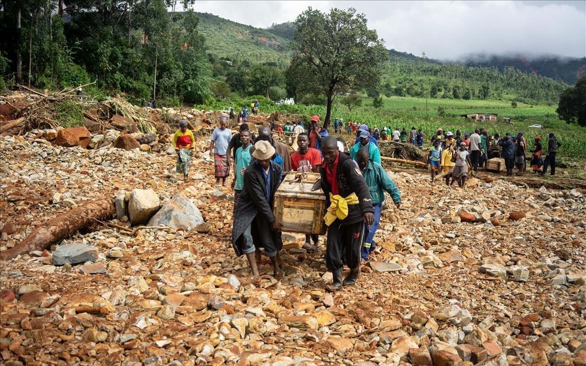El paso del ciclón Idai en Mozambique provoca la muerte de 162 personas.