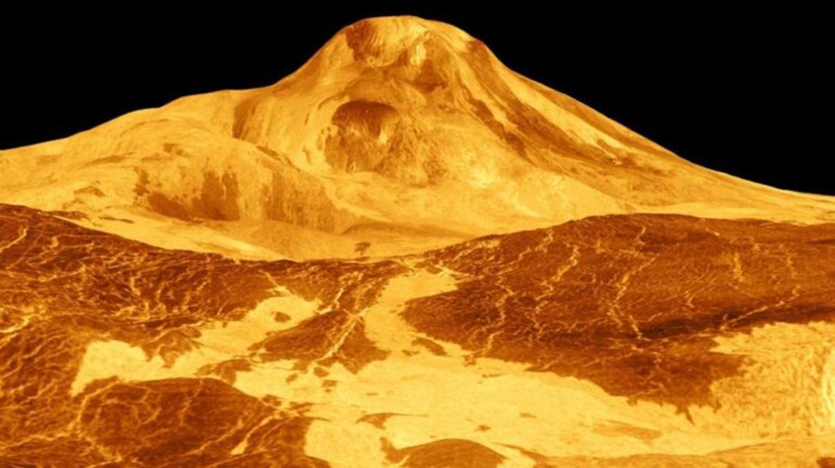 Venus puede estallar por su elevada actividad volcánica