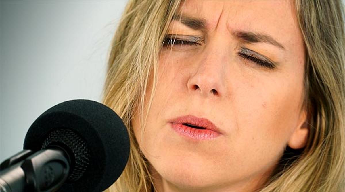 La cantautora catalana interpreta 'Farrera'