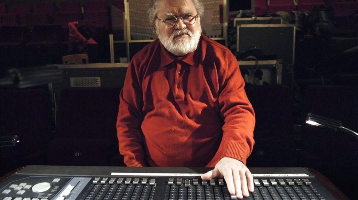 Pierre Henry, en su estudio de París, en el 2007.
