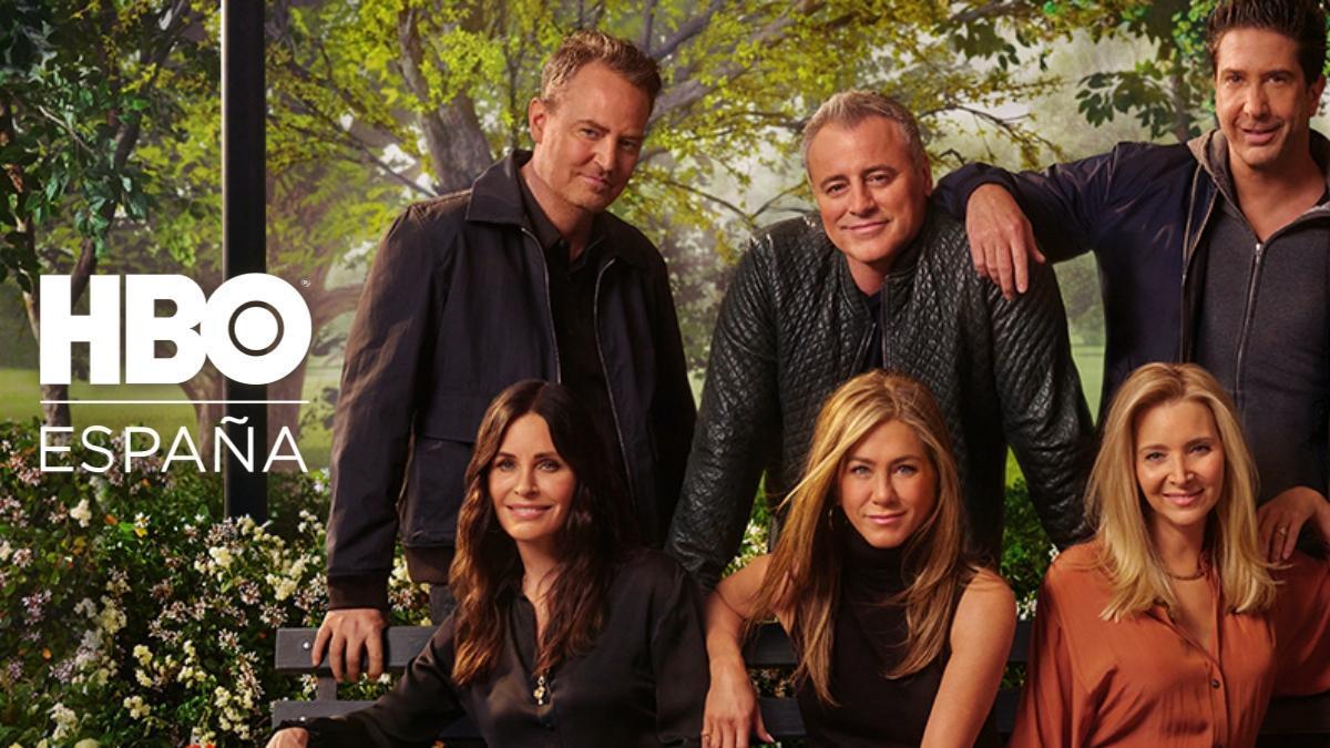 Los protagonistas de 'Friends' en el cartel de 'The Reunión'