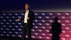 Víctor Font, en un acto de campaña.