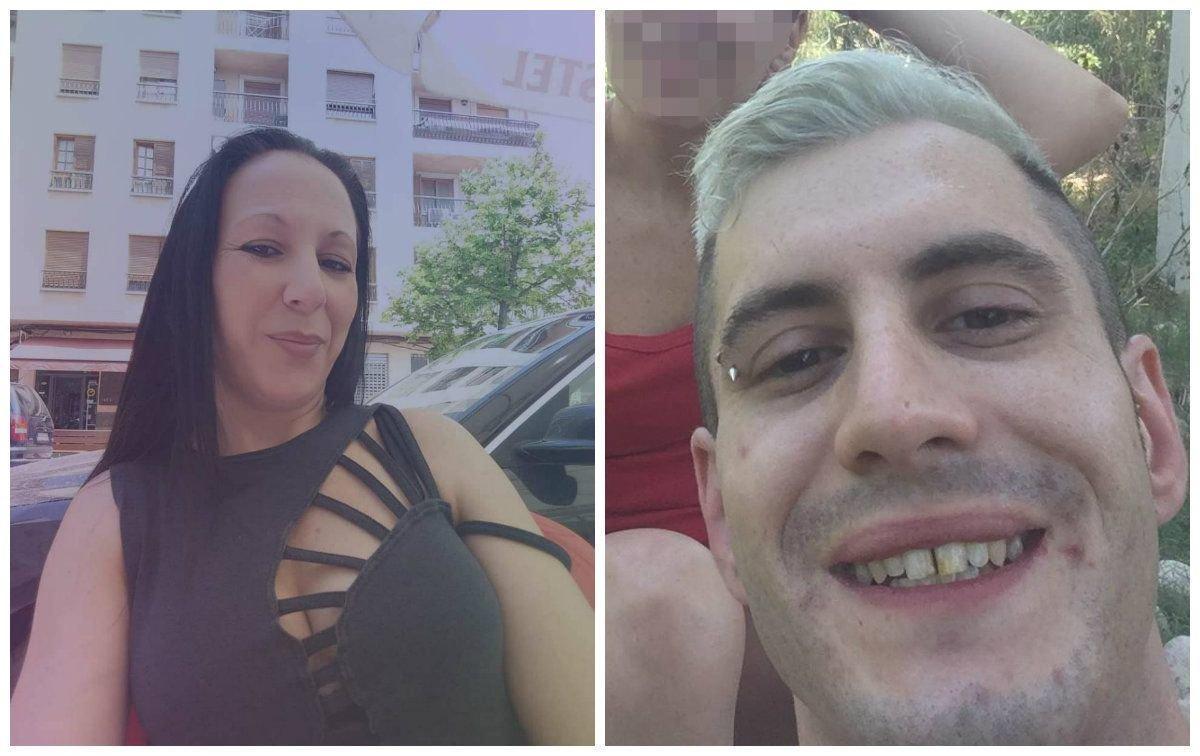 La víctima y el agresor del crimen machista de Valencia.