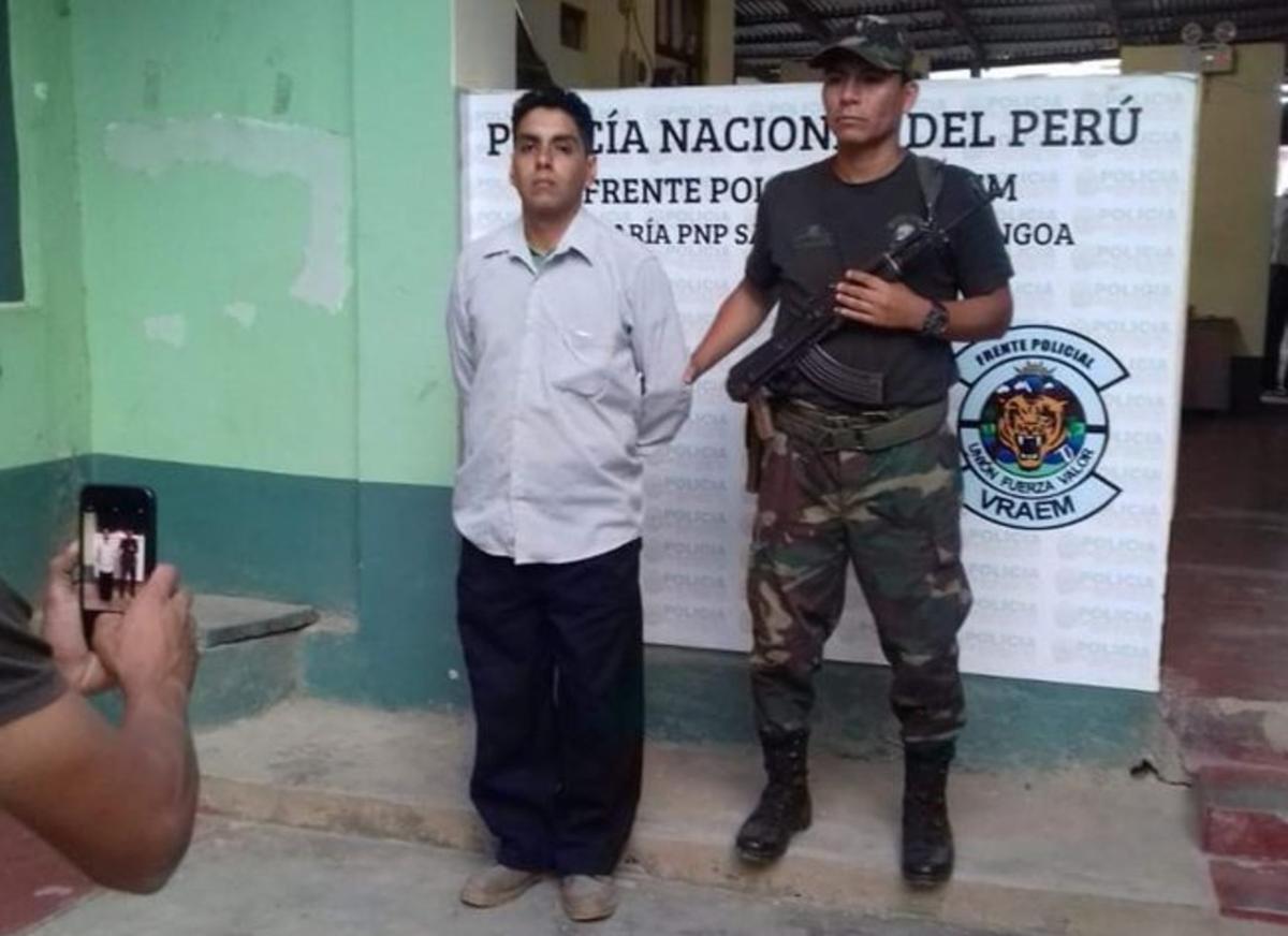 Félix Steven Manrique, condenado por varios delitos de trata de personas.