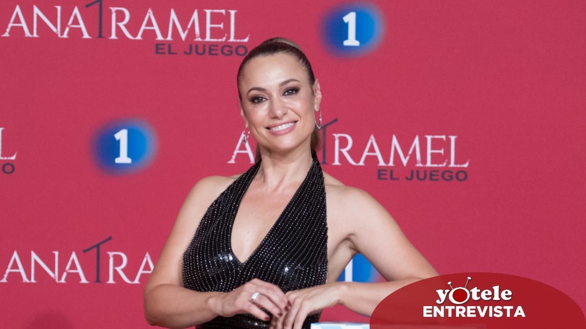 Natalia Verbeke en el preestreno de 'Ana Tramel. El juego' en el FesTVal de Vitoria.