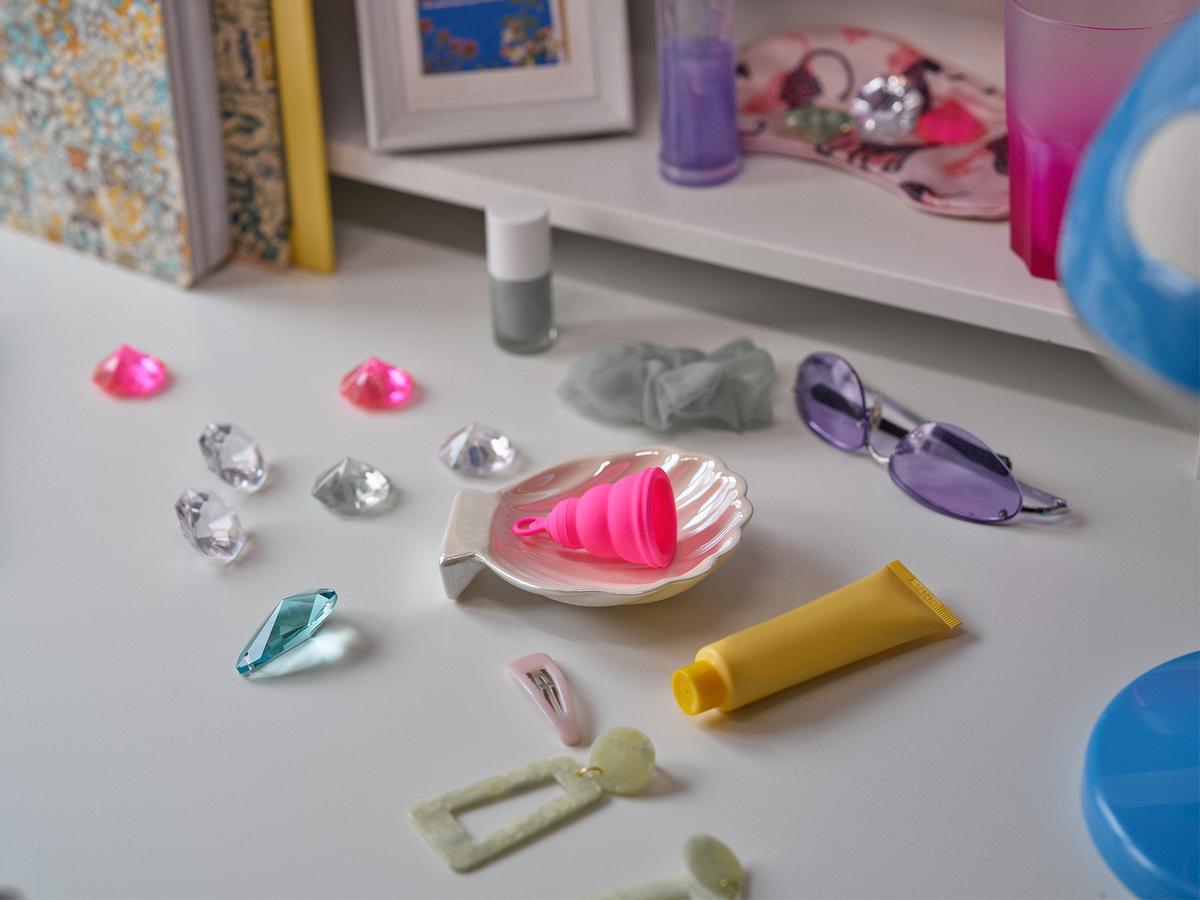 La 'Lily Cup One' de INTIMINA es la más pequeña del mercado y está pensada para primerizas