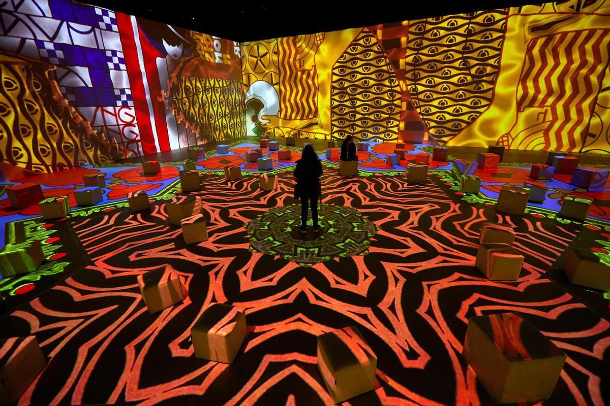 Momento de 'Klimt, la experiencia inmersiva'.