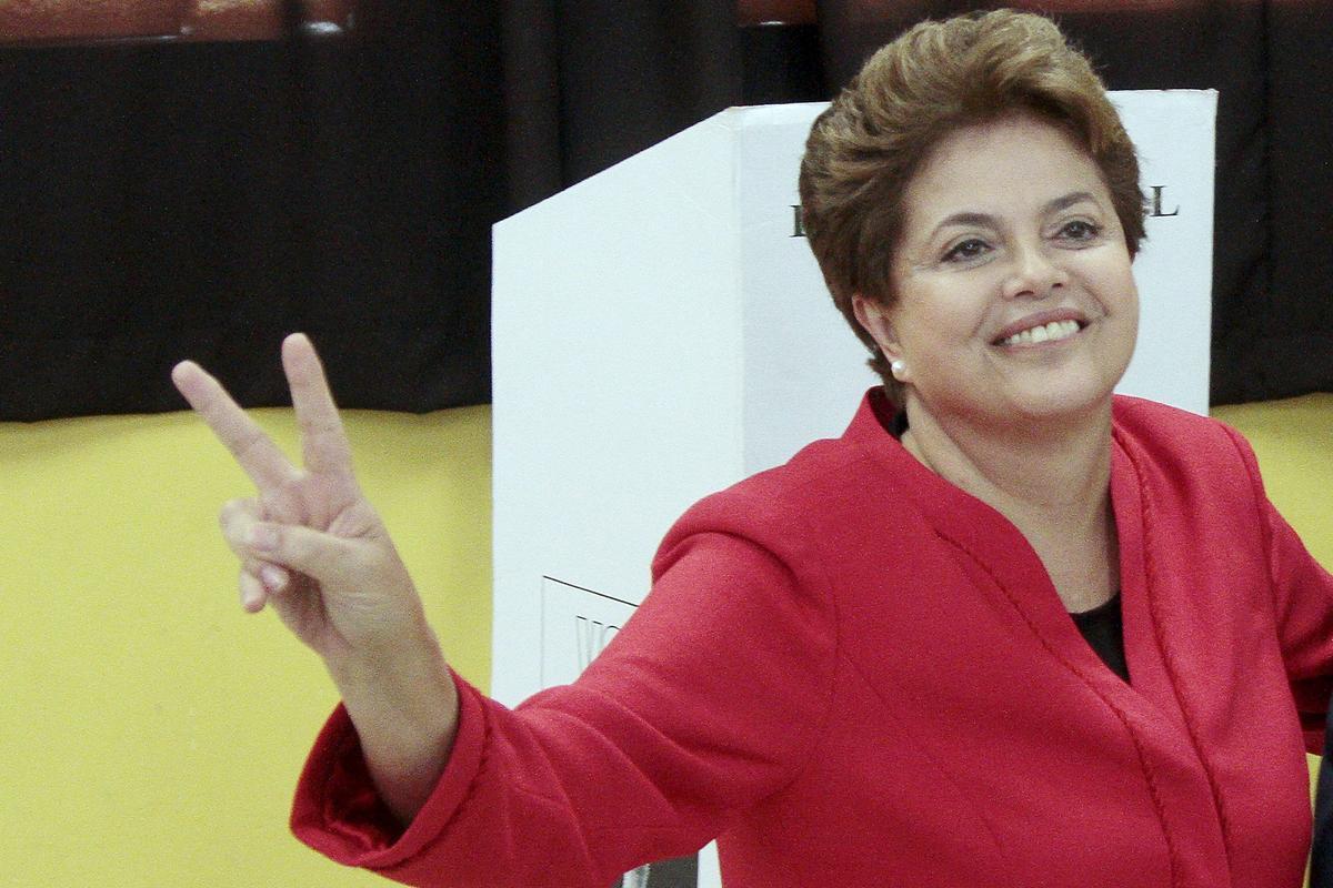 La expresidenta de Brasil, Dilma Rousseff.