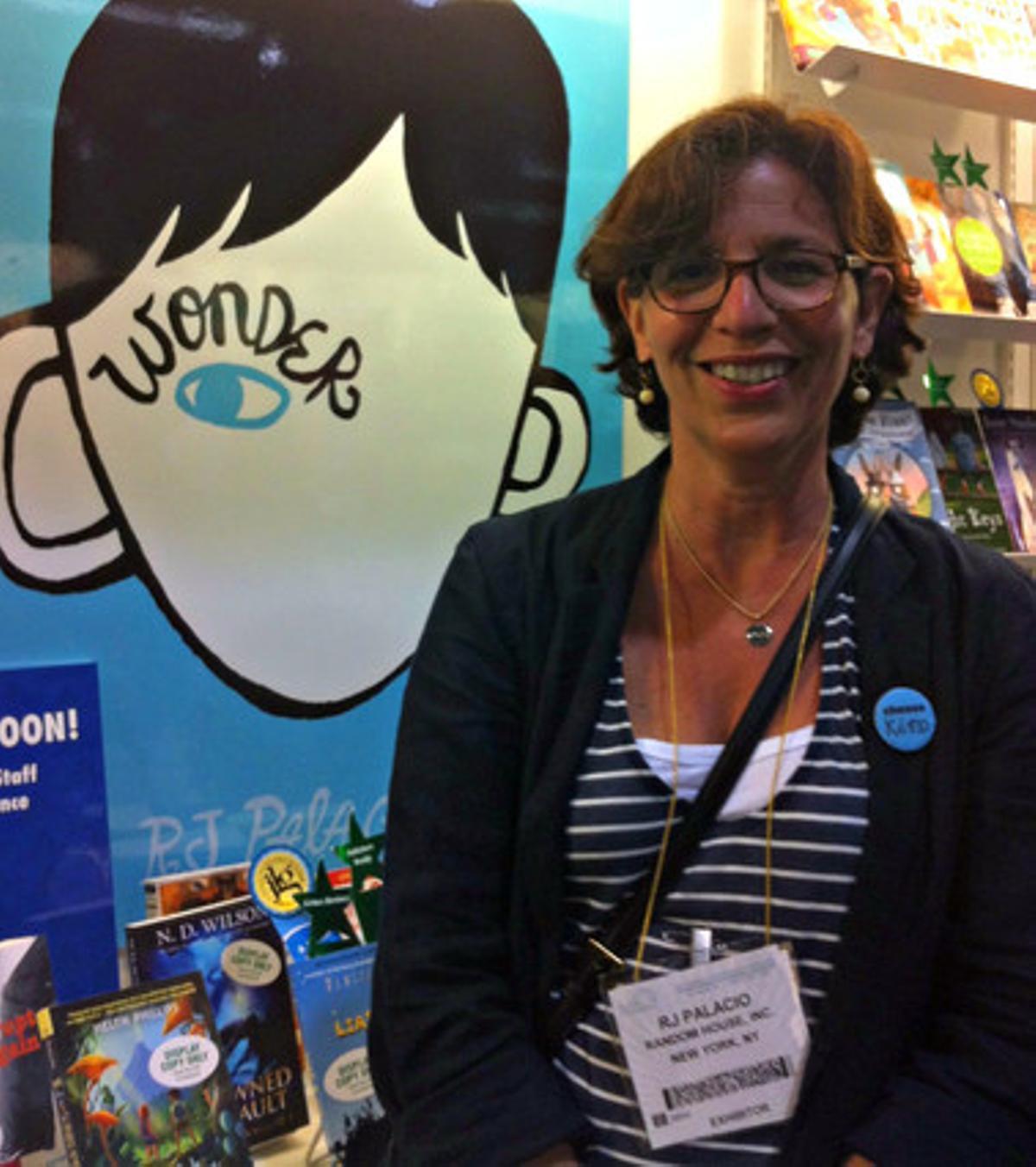 La escritora R. J. Palacio, autora del 'best-seller' infantil 'Wonder' ('La lección de August').