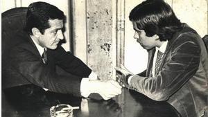 Adolfo Suárez y Felipe González, en una imagen de archivo.