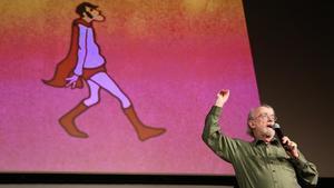 Peter Lord, en la presentación del Animac en Barcelona