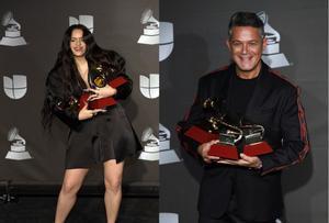 Rosalía y Alejandro Sanz brillaron en la 20 entrega de los Grammy Latinos.