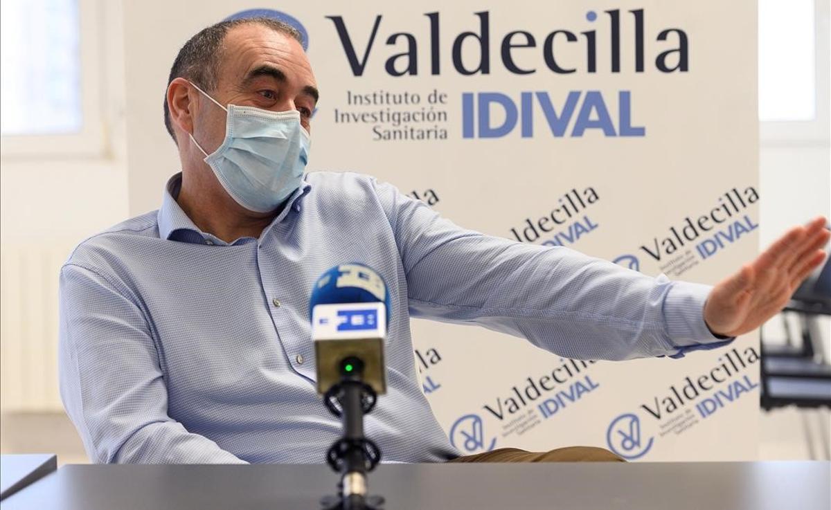 El presidente de la Sociedad Española de Inmunología, Marcos López Hoyos.