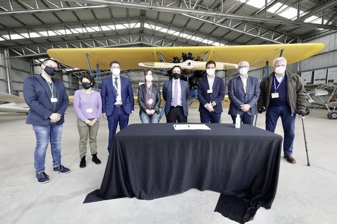 Sabadell aportará 60.000 euros a la Fundación Parc Aeronàutic de Catalunya para el Museo Aeronáutico