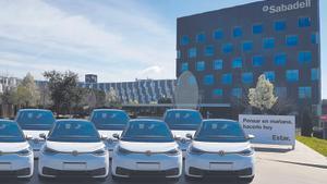 'Eco-renting': Banco Sabadell se compromete con la movilidad sostenible