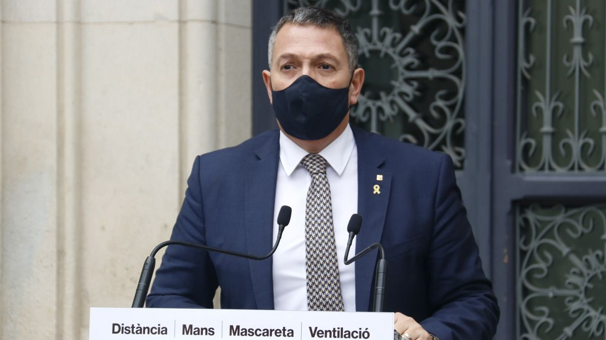 Miquel Sàmper dice que al menos 7 de los 14 detenidos el pasado sábado están vinculados al movimiento anarquista y seis son extranjeros