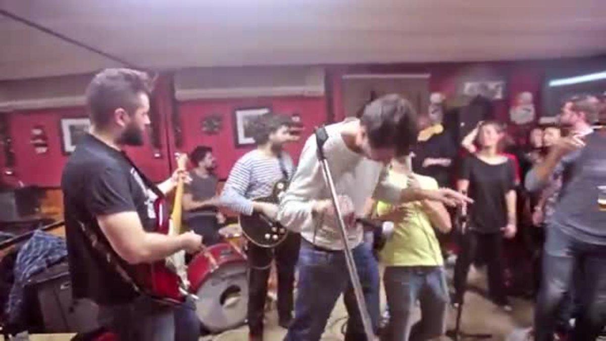 Jam session en el bar La Gaviota de Gràcia.