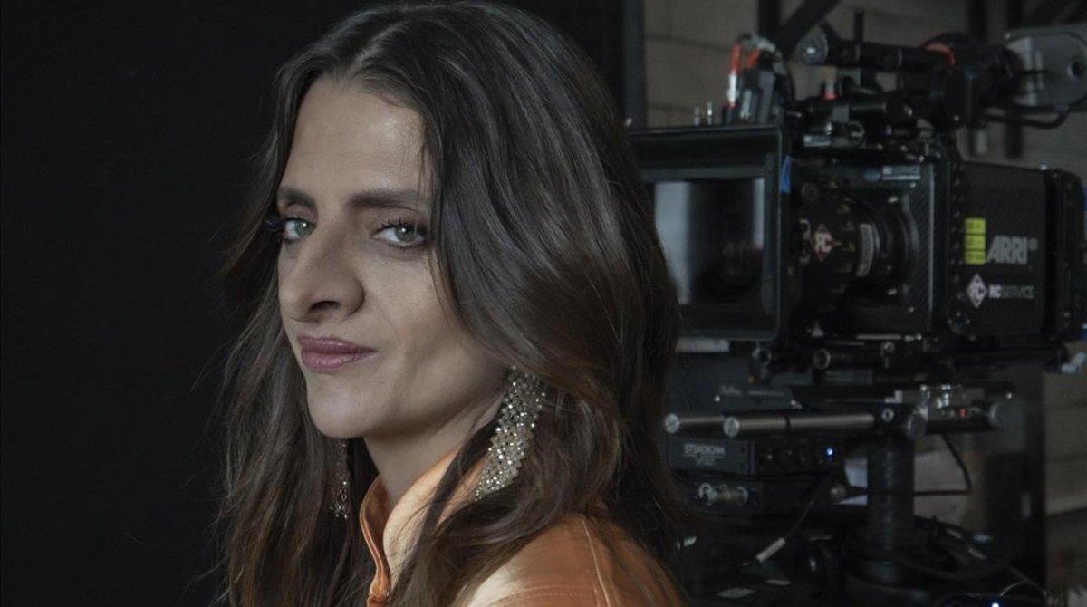 Macarena Gómez es la protagonista delsmell film con motivo de los premios a los mejores perfumes del ano de la Academia del Perfume.
