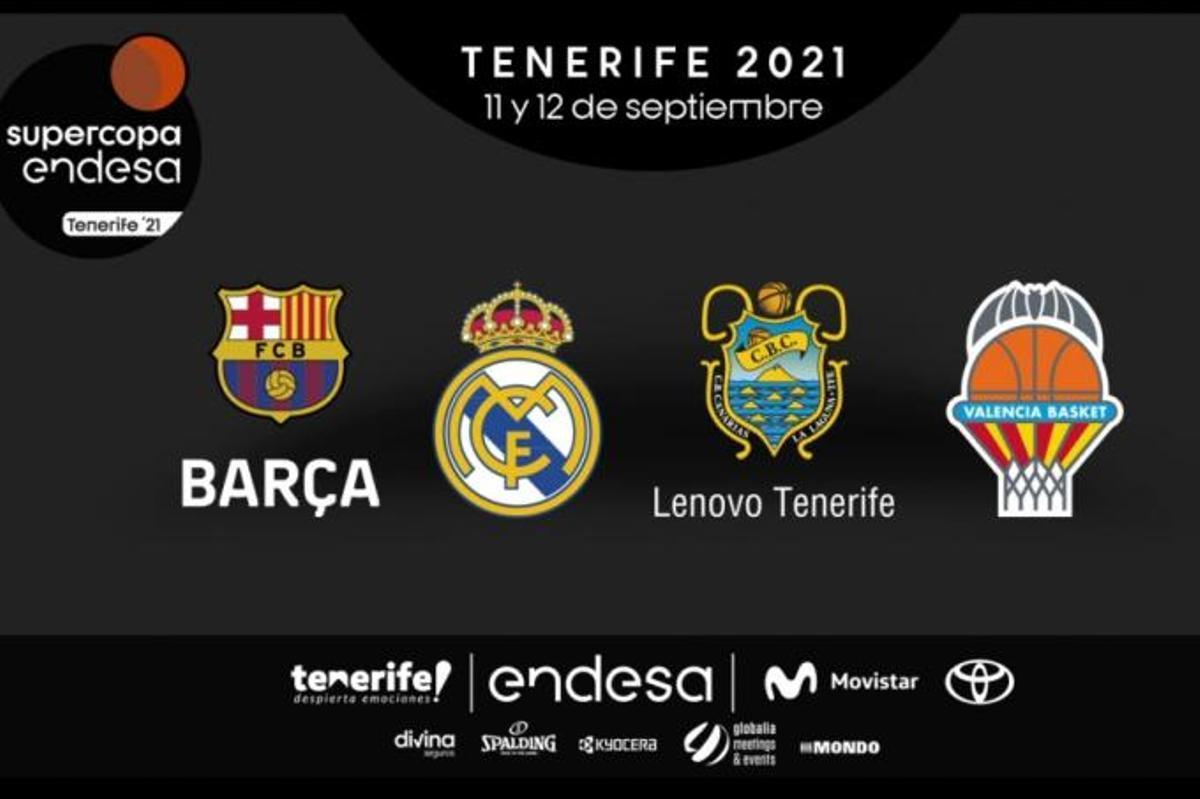 Éstos son los participantes de la edición 21-22 de la Supercopa.