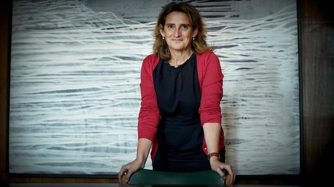 Entrevista con Teresa Ribera, vicepresidenta tercera y ministra para la Transición Ecológica