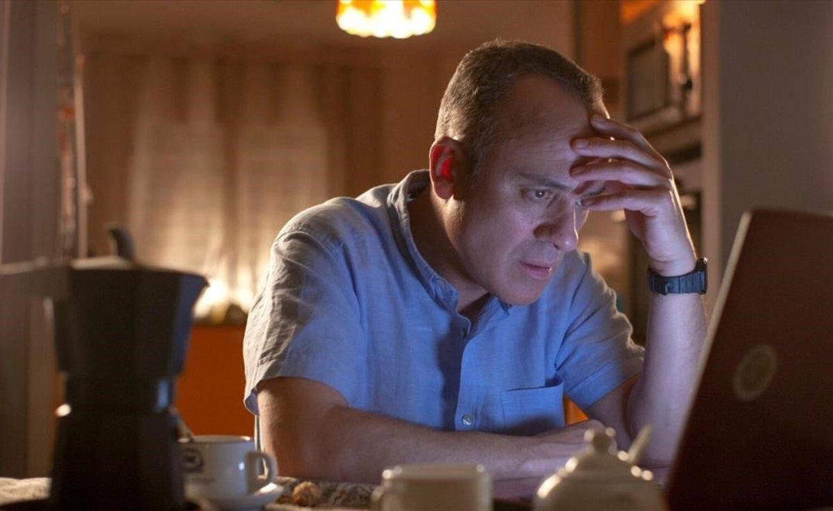 Javier Gutiérrez, protagonista de 'Vergüenza'