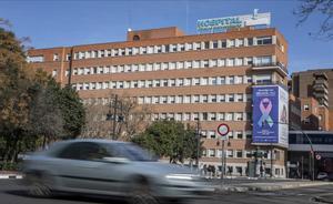 Fachada del Hospital Clínico de Valencia.