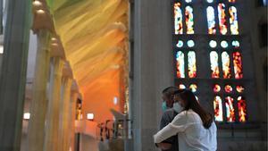 La Sagrada Família reobre les portes per a sanitaris i treballadors essencials