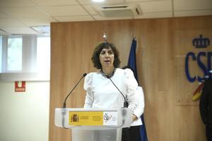 Irene Lozano, presidenta del CSD.
