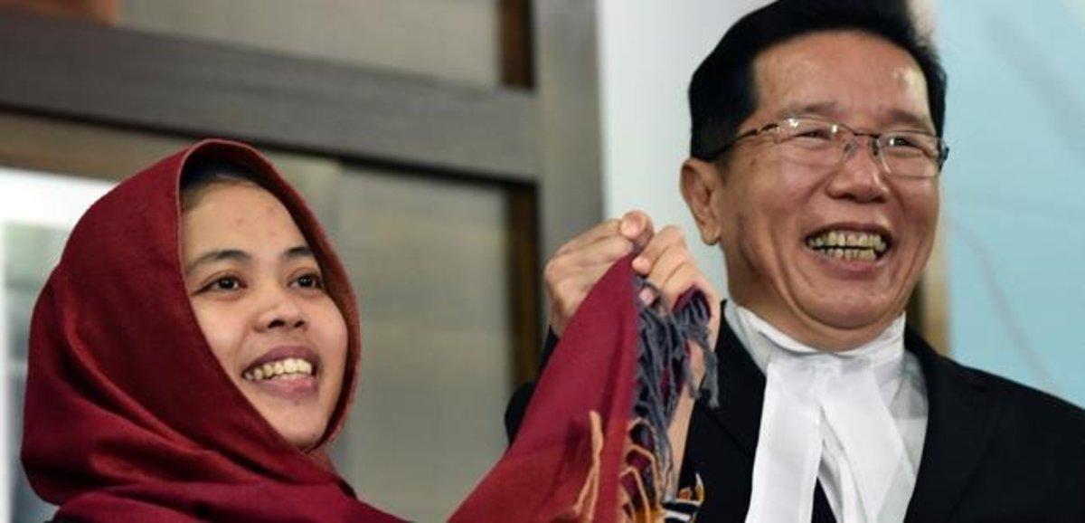 Un tribunal malaisi allibera una sospitosa de l'assassinat del germanastre de Kim Jong-un