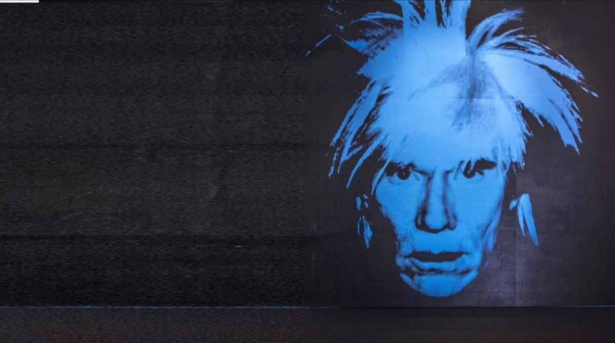 Exposición de Andy Warhol en Caixaforum.