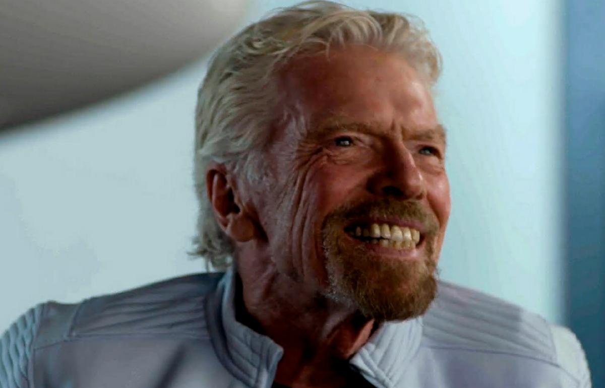 Richard Branson, un milionari pop apassionat de l'espai