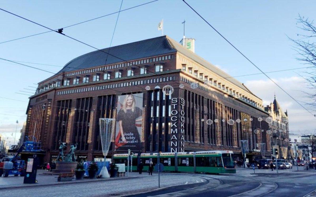 Vista de la ciudad de Helsinki.