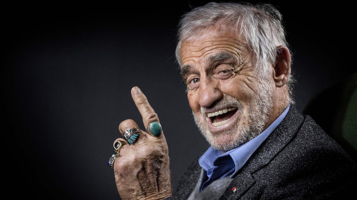 Jean-Paul Belmondo, en una imagen del 2016.