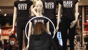 Black Friday en un comercio de Barcelona.