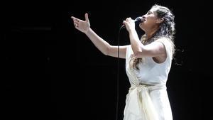 Sílvia Pérez Cruz, en un concierto