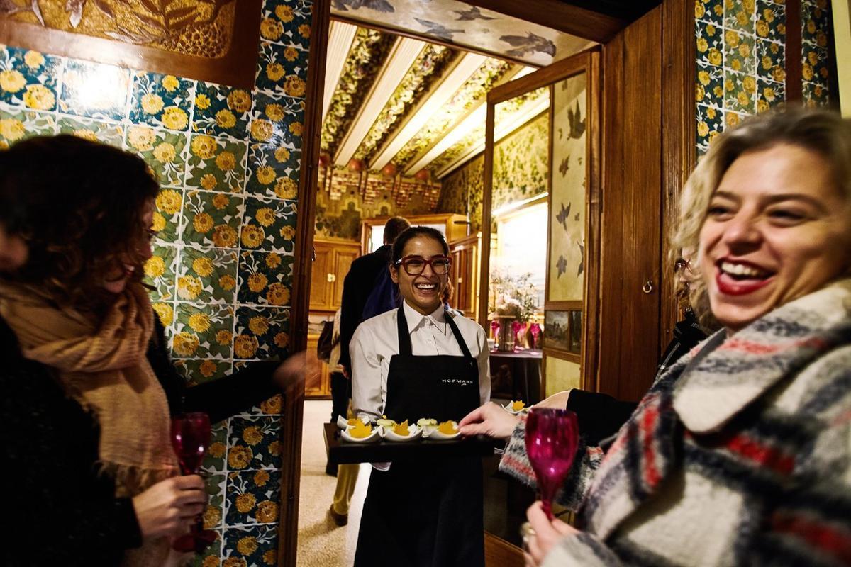 Uno de los 'caterings' de Casa Vicens,de los que se encarga Hofmann.