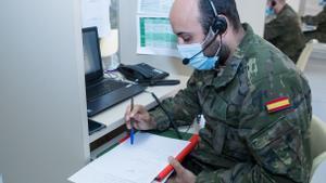 Els militars vigilen l'entrada a Espanya de les variants brasilera i sud-africana de la Covid