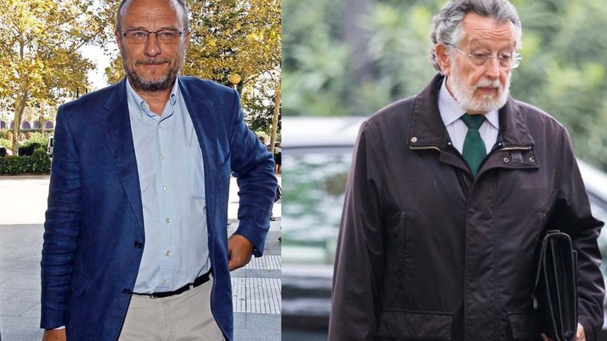 La UCO ha detenido hoy a Rafael Rubio y Alfonso Grau por cobrar sobornos.