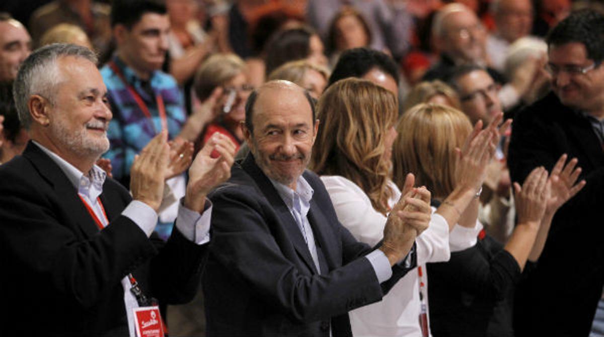 Algunos de los que podrían liderar en el futuro un PSOE.