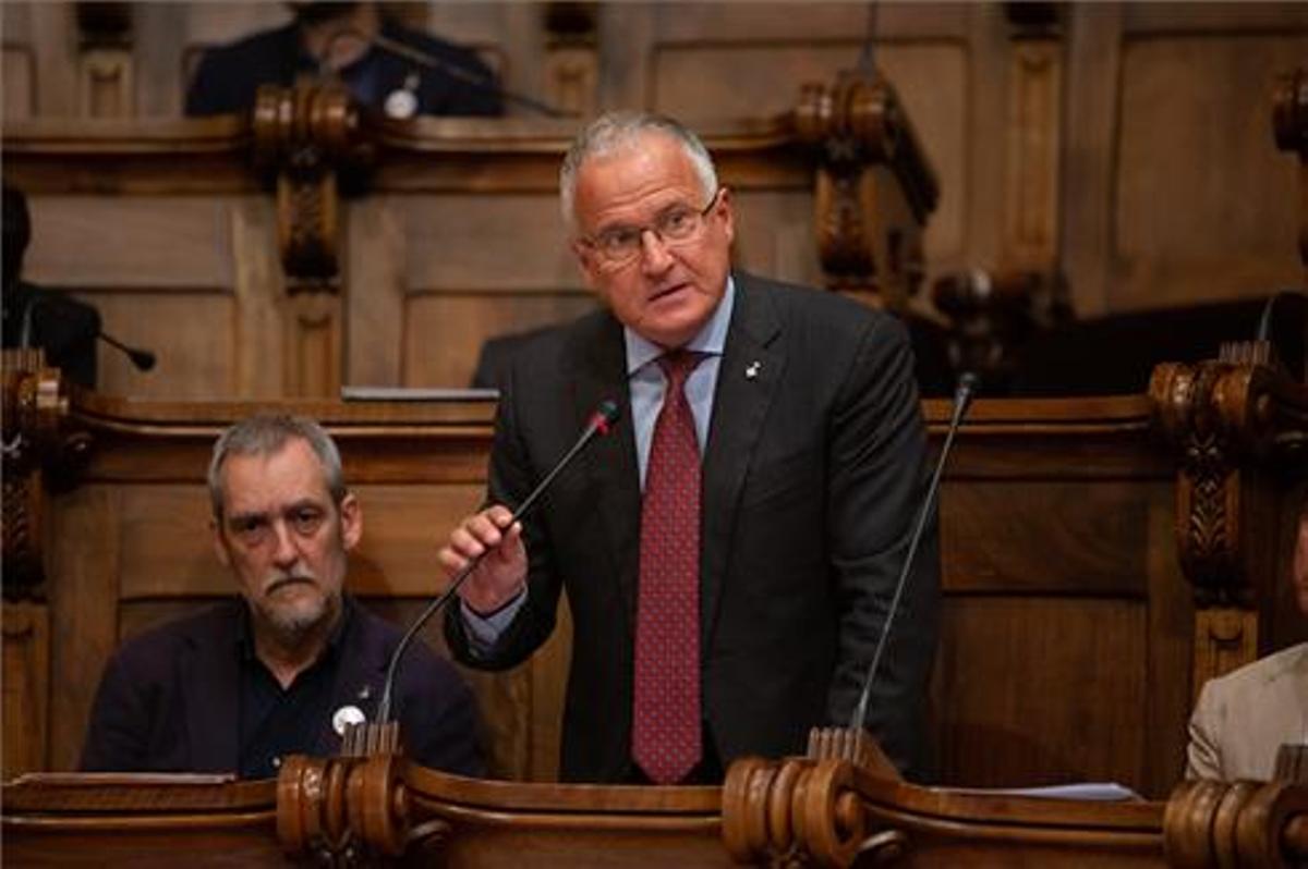 El concejal del PP, Josep Bou.