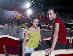Kimberley y Jillian.