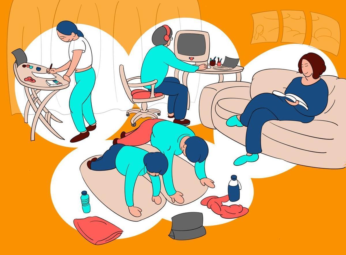 A casa teva en temps de coronavirus
