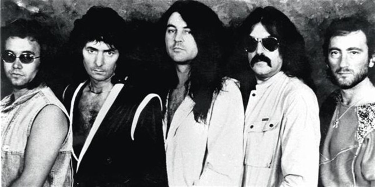 De izquierda a derecha, Ian Paice, Richie Blackmore, Ian Gillian, Jon Lord y Roger Glover.