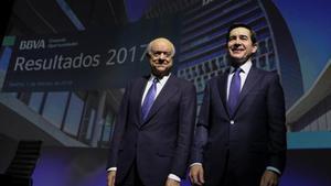 Francisco González (izquierda), junto a Carlos Torres.