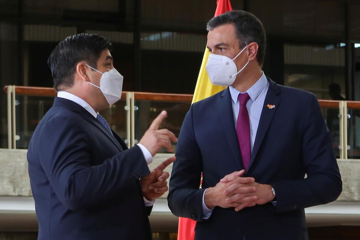 Sánchez, sobre la foto de Colón 2: «La discòrdia no construeix pàtria»