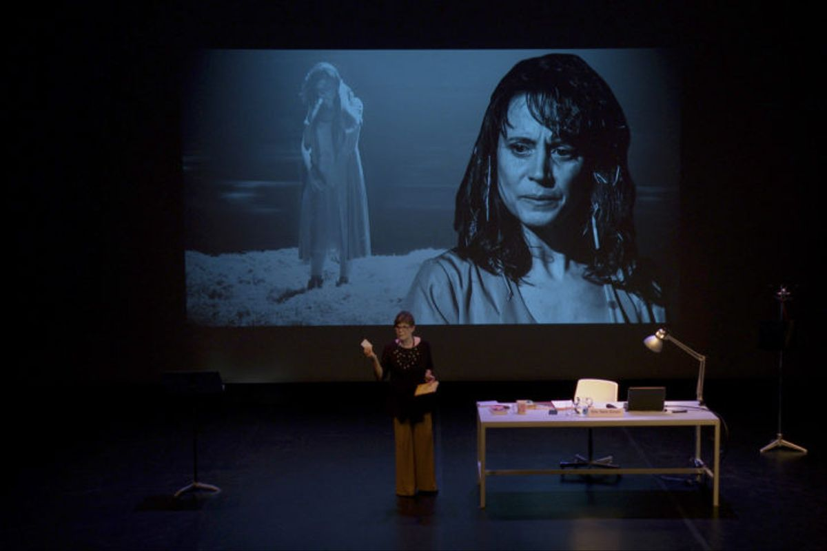 Una escena de 'Solitud a Stromboli', una de las obras que pueden verse en TNC Digital.