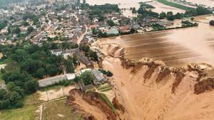 Landslide in Erftstadt