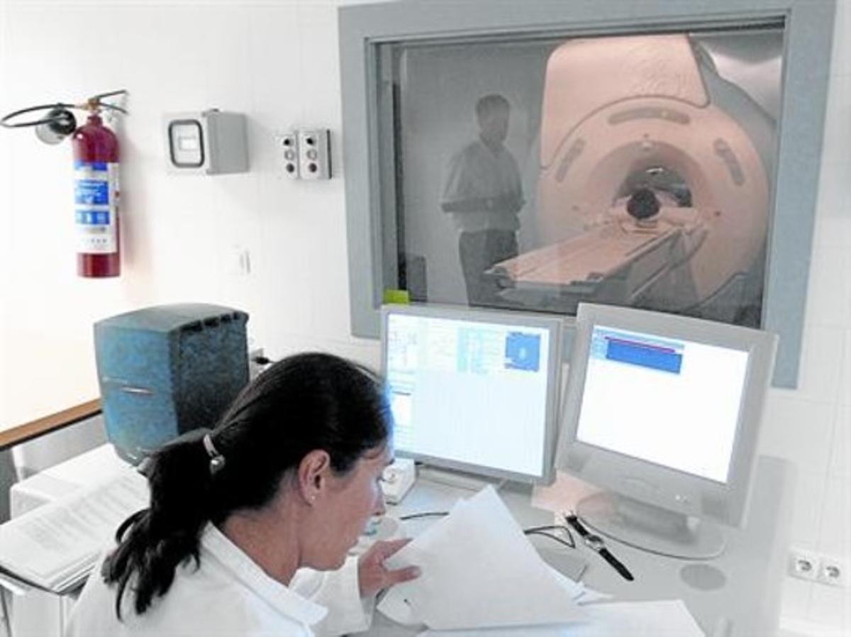 Unidad de resonancias magnéticas del hospital de Santa Tecla, en Tarragona.