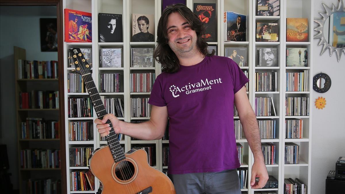 Javi Jareño: «La música fue mi salvación absoluta»